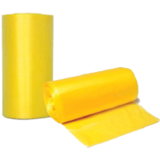 אשפתון HD צהוב מט אטום 7692 סמ בגליל