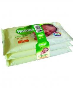 מארז שלישייה מגבונים לחים לתינוק לעור רגיש