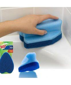ספוג מגהץ לקרצוף האמבטיה