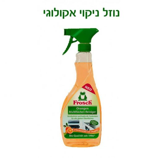 FROSCH נוזל רב תכליתי תפוזים אקולוגי
